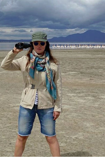Екатерина Андреева часто путешествует по Африке