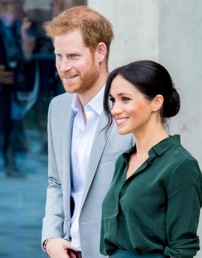 На официальных мероприятиях Меган и Гарри всегда выглядят доброжелательными