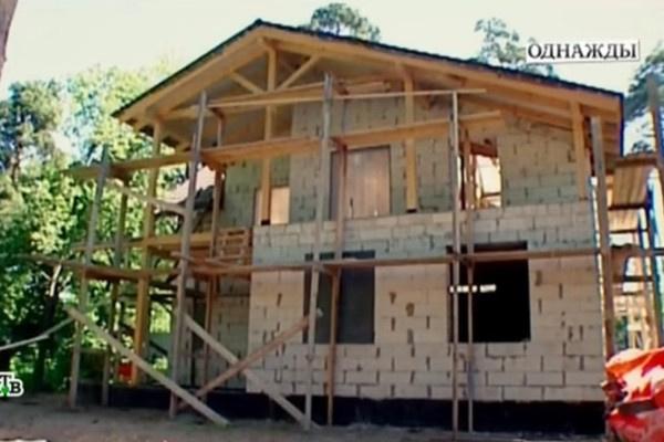 Алла Осипенко строит дом для внука