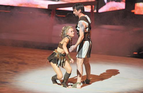 Кристина Асмус получила серьезную травму на шоу
