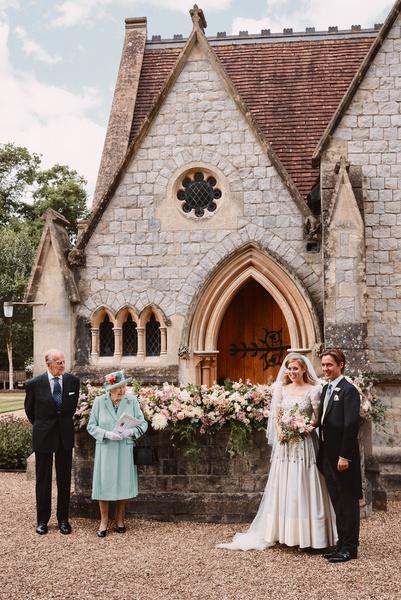 Первые фото со свадьбы принцессы Беатрис