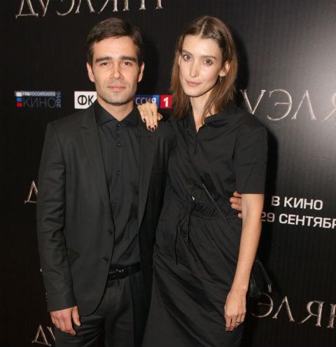 Петр Федоров с невестой Анастасией