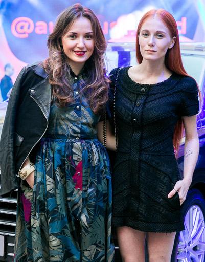 Катя Добрякова и Александра Федорова