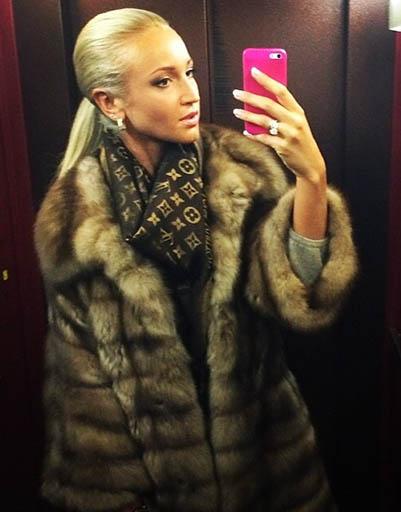 Ольга Бузова - поклонница соболя