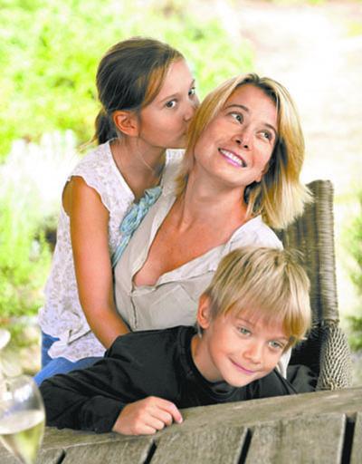 Семейные фото часто появлялись в глянцевых журналах