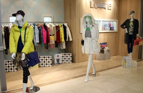 Pop-up store LOTTE FASHION