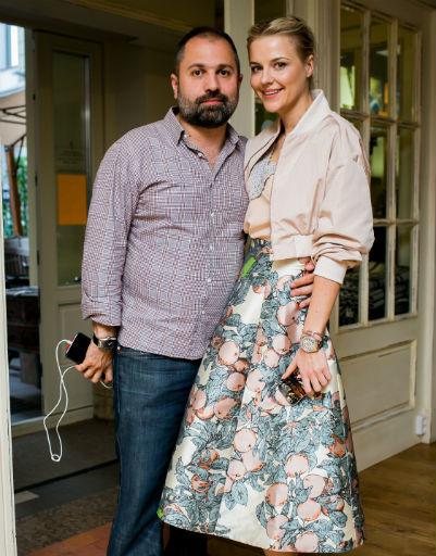 Таш Саркисян с женой Татьяной