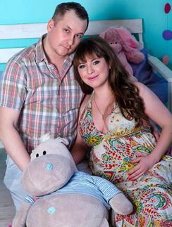 Даниил Диглер и его супруга Анна