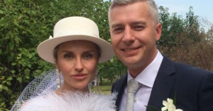 Екатерина Архарова вышла замуж во второй раз