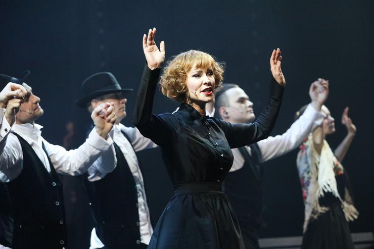 Актриса играет Гурченко в спектакле «Люся. Признание в любви»