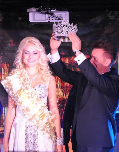 В прошлом году девушка была удостоена титула «Первой вице-миссис России»