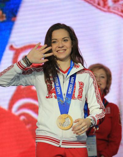 Олимпийская чемпионка в женском одиночном катании Аделина Сотникова