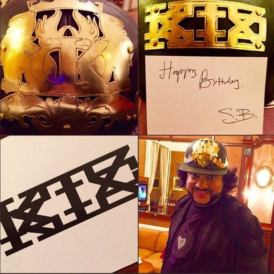 Филипп Киркоров показал подарок, полученный на день рождения