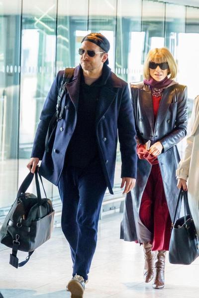 Брэдли Купера заметили в аэропорту вместе с Анной Винтур