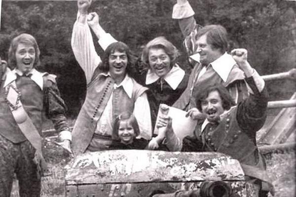 Фото со съемок мини-сериала «Д`Артаньян и три мушкетера». Режиссер Георгий Юнгвальд-Хилькевич, 1979 год