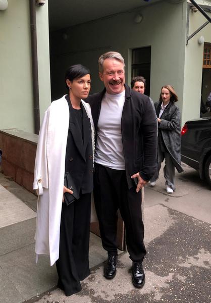 Алексей Кравченко с супругой