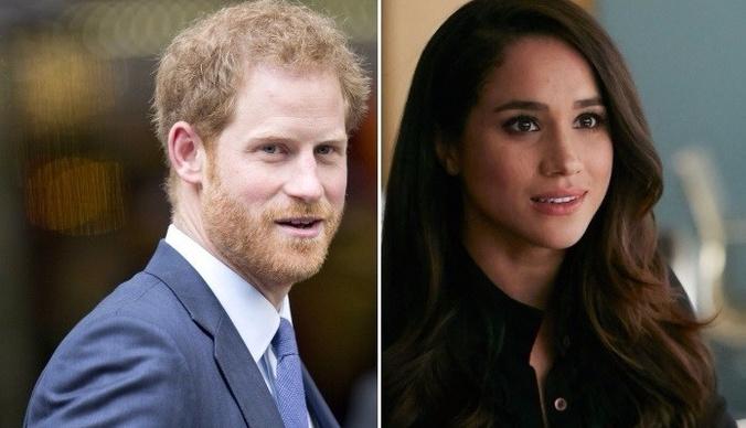 Принца Гарри застали за страстными поцелуями с избранницей