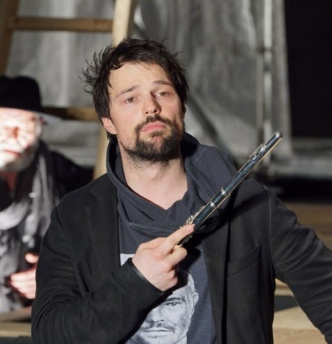 Данила Козловский в спектакле «Гамлет» на сцене МДТ