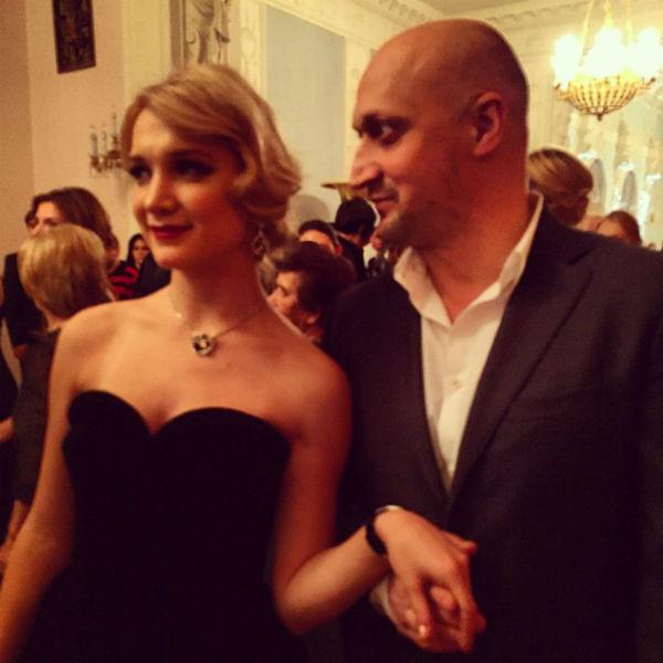 Актер с дочерью Полиной на Балу дебютанток