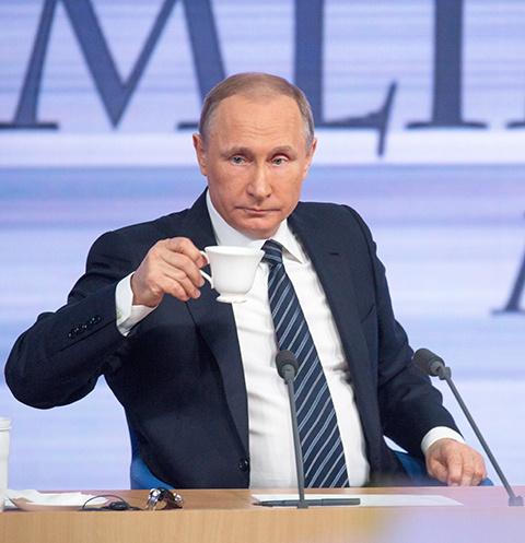 Владимир Путин: «Стараюсь пиво не пить в последнее время – брюхо растет»