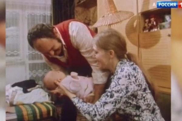 Анна Герман с семьей