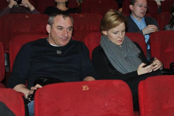 Николай с женой Наталией