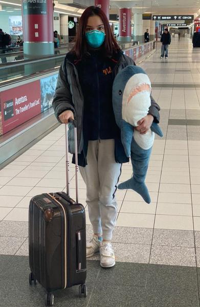 27 апреля Евгения прибыла в Японию