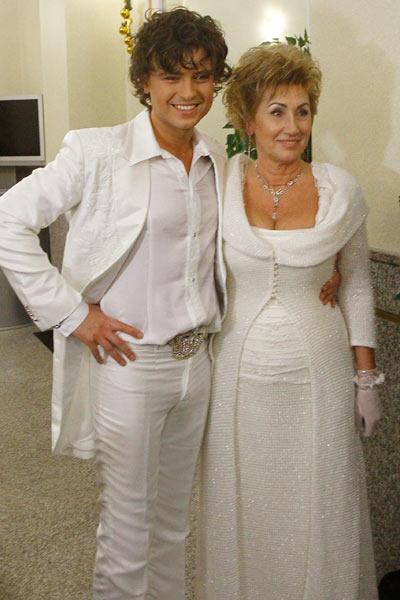 Свадебное фото супругов