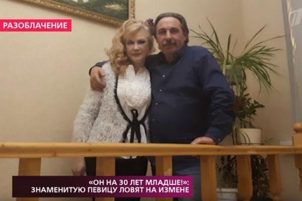 Светлана Разина с супругом
