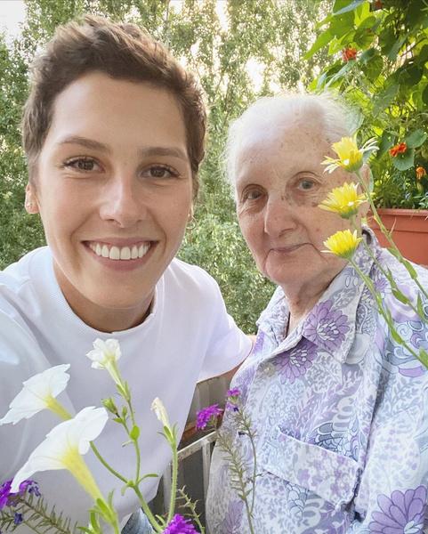 Ирина Горбачева опубликовала фото с бабушкой