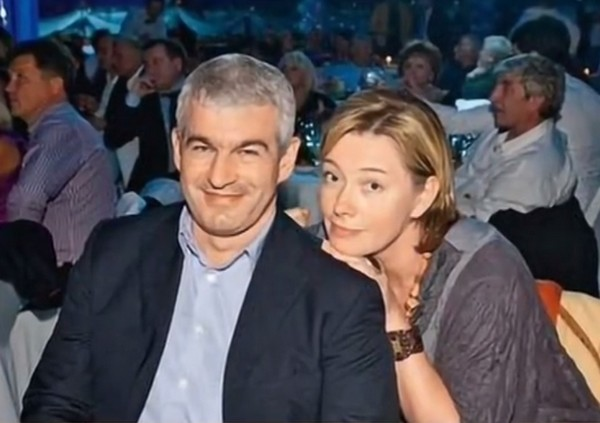 Арина Шарапова с мужем Эдуардом