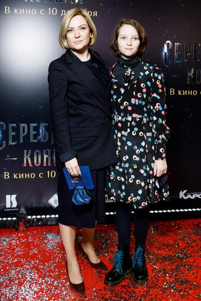 Министр культуры Ольга Любимова с дочерью