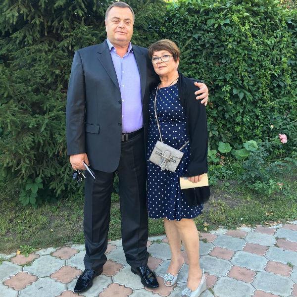 Родители Жанны Фриске, Владимир Борисович и Ольга Владимировна