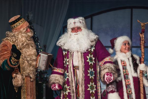 Дед Мороз и волшебники разных народов
