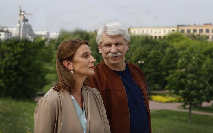 Сергей Баталов исполнил роль возлюбленного главной героини