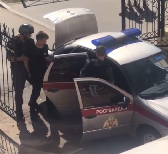 После инцидента Долбеева сразу задержали