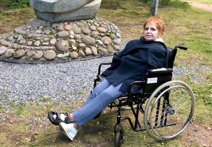 После ДТП Галина Сергеевна стала инвалидом второй группы