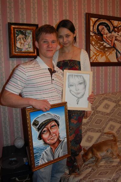Настя - единственная, кого Головин готов рисовать бесконечно
