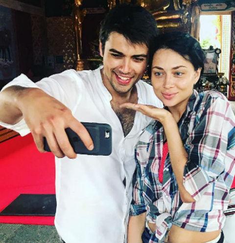 Настасья Самбурская и Кирилл Дыцевич, июнь 2017-го