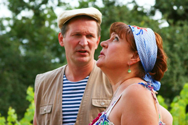 Татьяна с партнером по «Сватам» Федором Добронравовым