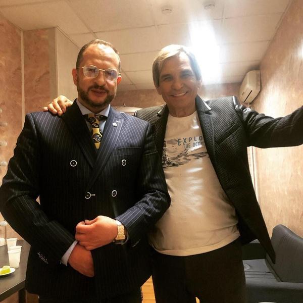 Адвокат Александр Бенхин и Бари Алибасов
