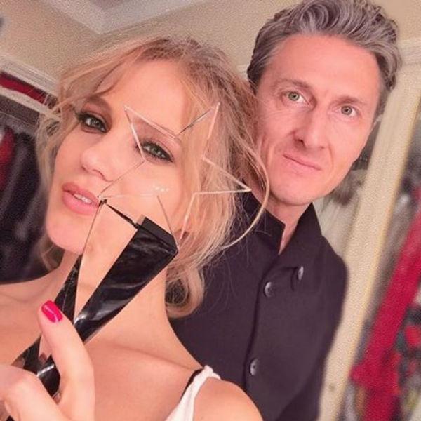С мужем Александром Чистяковым