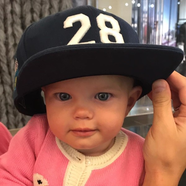 Есения Аршавина, младшая дочь футболиста