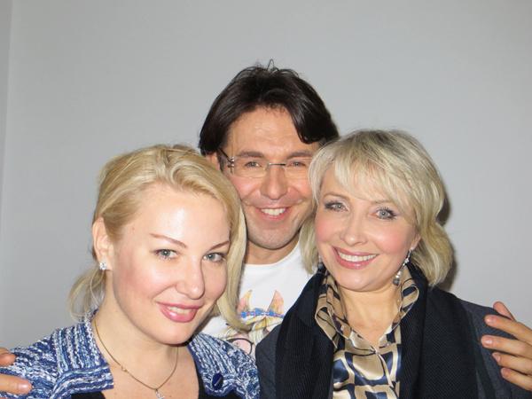 Я с Юлией Пузыревой и Маргаритой Королевой