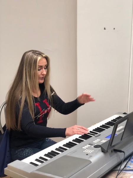 Олеся Слукина тоже занимается преподаванием