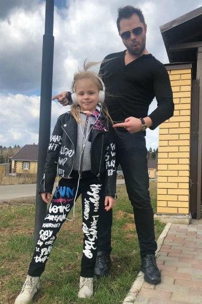 Виталий Гогунский проводит время с дочерью Миланой