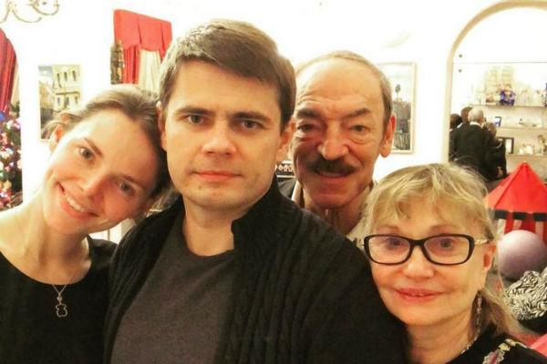 Главным источником вдохновения для Боярского является его семья