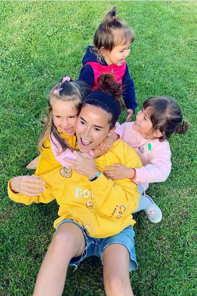 Мирослава с детьми
