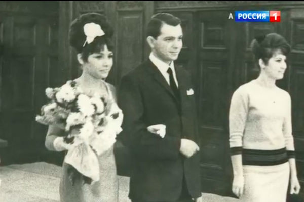 Юрий Маликов и Людмила Вьюнкова в день свадьбы