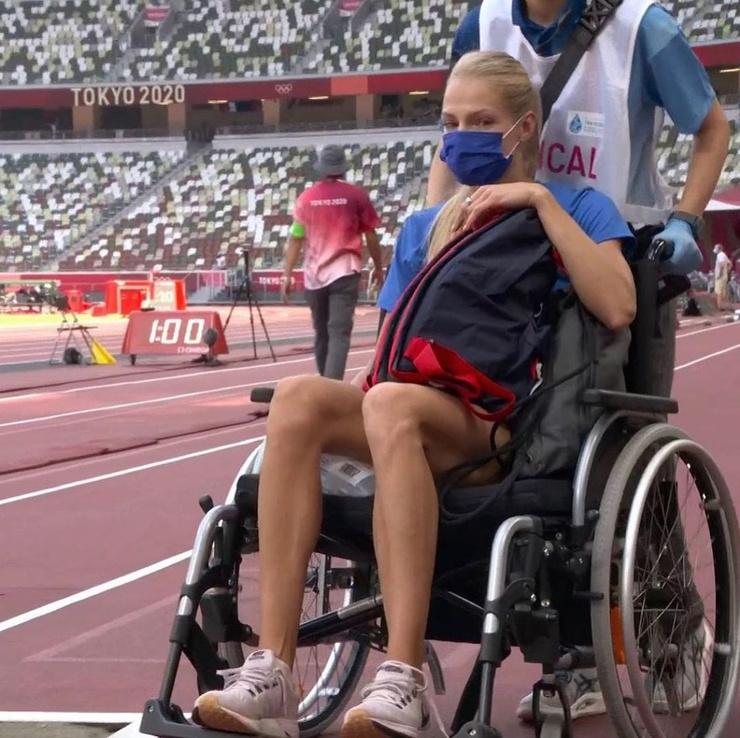 Дарья Клишина получила травму